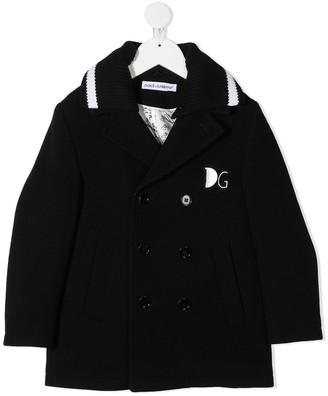 Dolce & Gabbana Kids Double-Breasted Wool Coat
