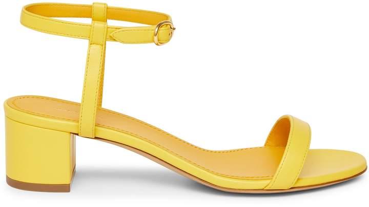 Mansur Gavriel Lamb Ankle Strap Sandal - Sun