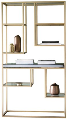 Hudson Living Pippard Open Display Unit - Champagne