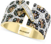 Effy Confetti by Diamond Animal Print Statement Ring (1-1/4 ct. t.w.) in 14k Gold