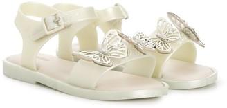 Mini Melissa Butterfly Open Toe Sandals