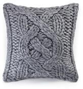 UGG Oversized Knit Wool Blend Grey Pillow - 20\