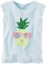 Carter's Embellished Graphic-Print Cotton T-Shirt, Little Girls (2-6X) and Big Girls (7-16)