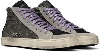 P448 Skate Metallic High Top Sneaker