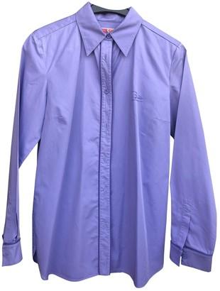 Emilio Pucci Purple Cotton Top for Women Vintage