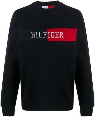 Tommy Hilfiger Colour Block Logo Sweatshirt