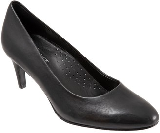 Trotters Leather Dressy Pumps - Babette