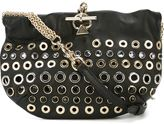 Sonia Rykiel eyelet embellished cross body bag