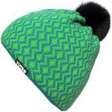 YUTRO Fashion Women's Wool Thinsulate Fleece Lined Beanie Hat With Rabbit Pom GREEN