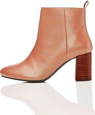 Find. Amazon Brand Women's Ankle Boots Brown Brandy) US 5