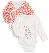 Stella McCartney Birdie – Holiday 2-Pack Bodysuits (Baby Girls)