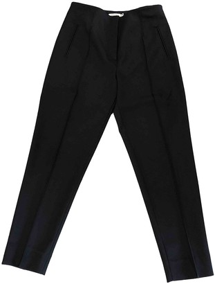 Protagonist Black Wool Trousers for Women