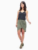 Splendid Sandwash Rib Draped Skirt