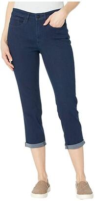 NYDJ Chloe Capri Jeans in Rinse (Rinse) Women's Jeans