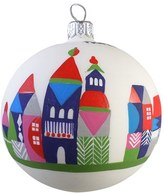Nordstrom 'Village' Handblown Glass Ball Ornament