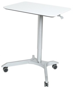 Seville Classics Airlift Pneumatic Sit To Stand Adjustable Desktop Converter