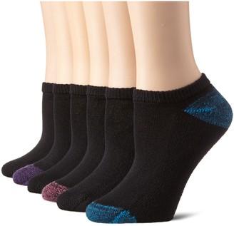 Hanes Women's 6 Pack Comfort Blend No Show Sock
