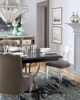 Interlude Nessy Acrylic Dining Chair