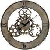 Sterling Cog Wall Clock
