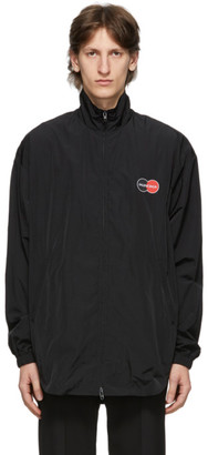 Balenciaga Black Uniform Tracksuit Jacket