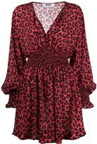 MSGM leopard print dress