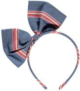 No Added Sugar Jaunty Stripe Bow Headband