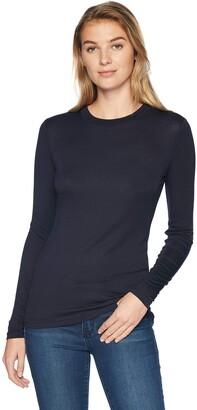 Lark & Ro Amazon Brand Women's Long Sleeve Crewneck Shirt
