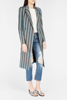 Brock Collection Catch Striped Coat