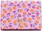 Prada small printed Saffiano wallet