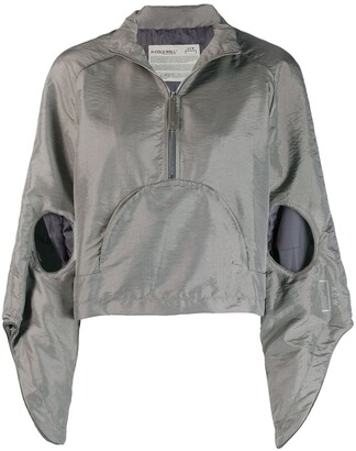 A-Cold-Wall* A Cold Wall* cut-out hooded anorak