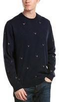 Brooks Brothers Crewneck Merino Wool Sweater.