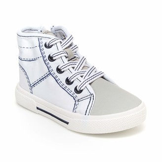 Carter's Boys' Nash Easy on high top Athletic Shoe with Zipper Closure Sneaker