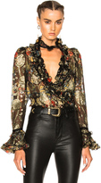 Roberto Cavalli FWRD Exclusive High Waisted Flare Pants