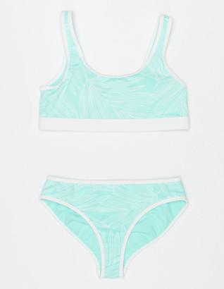 Full Tilt Scoop Bralette & Hipster Girls Bikini Set