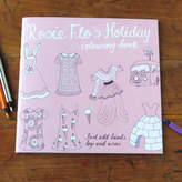 Flos Rosie Flo's colouring books Rosie Flo's Holiday Colouring Book