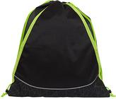 Fits Black & Neon Yellow Geometric Drawstring Bag