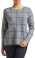Sportscraft NEW WOMENS Molly Check Crew Jumper Jumpers, Cardigans