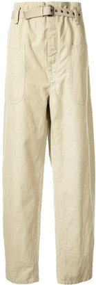 Etoile Isabel Marant Rinny belted straight-leg trousers