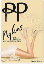 Pretty Polly Nylons Gloss Secret Slimmer Pantyhose, M/L