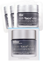 """Bliss Multi-""""Face""""-Eted 3 Packette Face Set"""