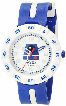 Flik Flak Kids Friends & Heroes Swiss Quartz Watch with Plastic Strap