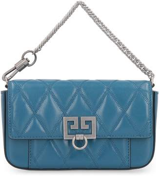 Givenchy Quilted Leather Mini Clutch