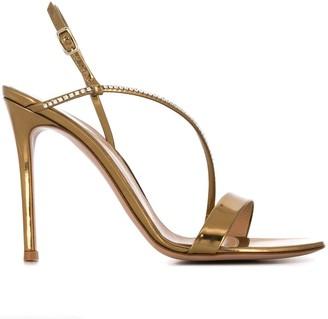 Gianvito Rossi Manhattan rhinestone-embellished sandals