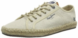 Pepe Jeans London Men's Tourist Lamu Linen Espadrilles