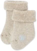 Petit Bateau Baby boy socks in terry cloth bouclette.