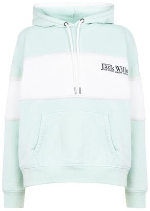 Jack Wills Pitfield Colour Block Hoodie