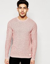 Selected Homme Mixed Yarns Knitted Jumper