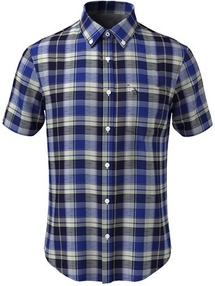 Original Penguin Plaid Short Sleeve Heritage Fit Shirt