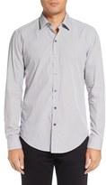 BOSS 'Robbie' Sharp Fit Graphic Print Sport Shirt