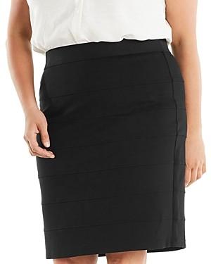 Estelle Plus Trinity Ponte Skirt